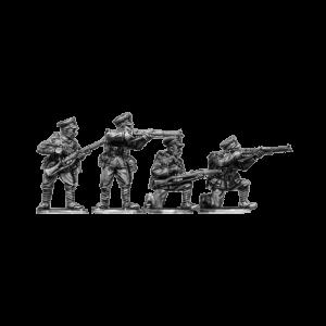 British Infantry Firing 2