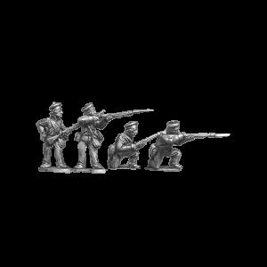 British Infantry Firing 1
