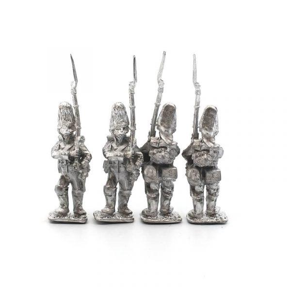Spanish Grenadier March Attack 1 pack, wearing bearskins.