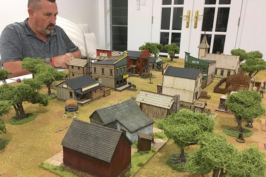 Wild West landscape and Tim Jolly