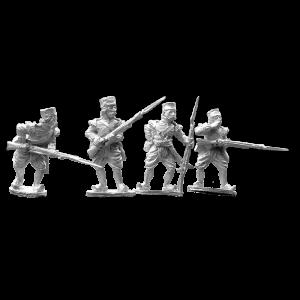 Indian Mutiny BNI Flank Company Sepoy Firing