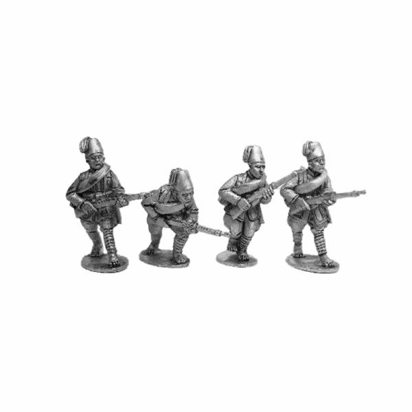 Askari Rifles advancing