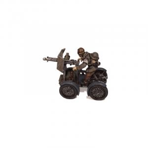 The Croydon Crusher (vehicle and rider)