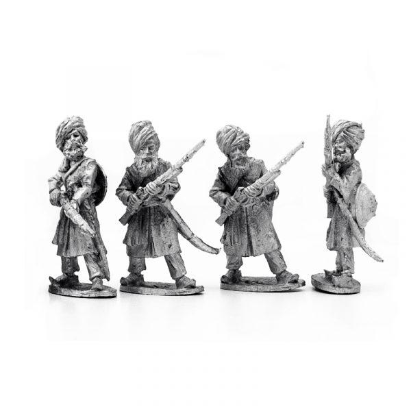 Sikh Irregular Matchlockmen Firing 1 b