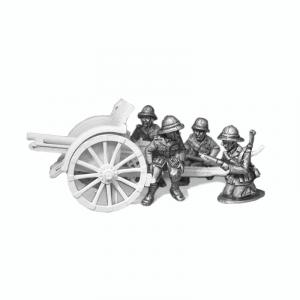 Italian Cannone da 75/27 crew