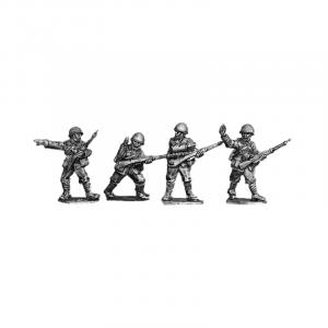 Italian riflemen wearing helmets 1