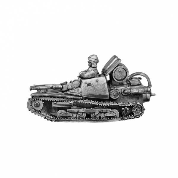 CV Lanciaflamme barrel version painted left