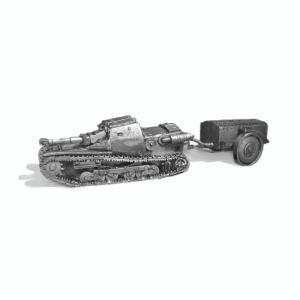 Italian CV33 Lanciafiamme side