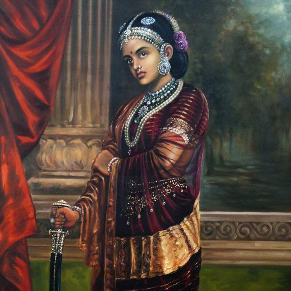 Lakashmi Bai the Rhani of Jhansi