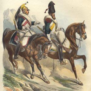 French Napoleonic Line Cavalry 1800 - 1815
