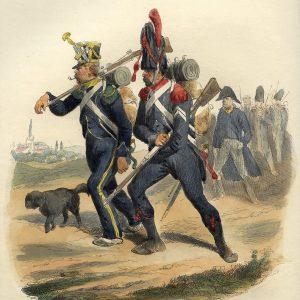 French Napoleonic Light Infantry 1800 - 1814