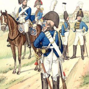 Prussian Cavalry & Generals 1800 - 1807